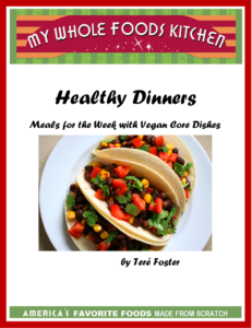 3 Healthy Dinners Cookbook